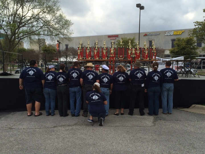 Outcast Cookers 2014 T-Shirt Photo