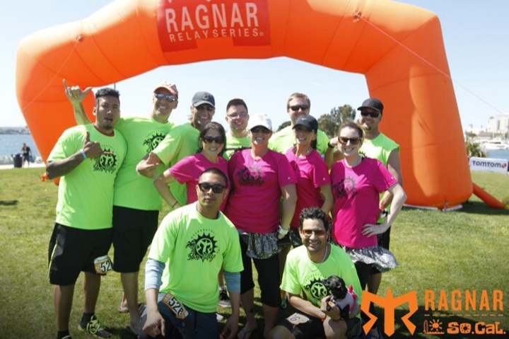 Ragnar So Cal 2014 Desperately Seeking San Diego T-Shirt Photo