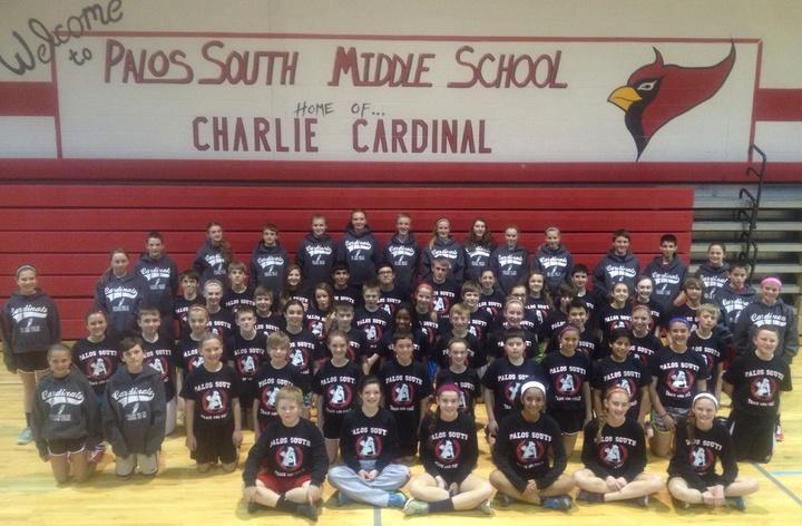Palos South Track & Field Team 2014 T-Shirt Photo