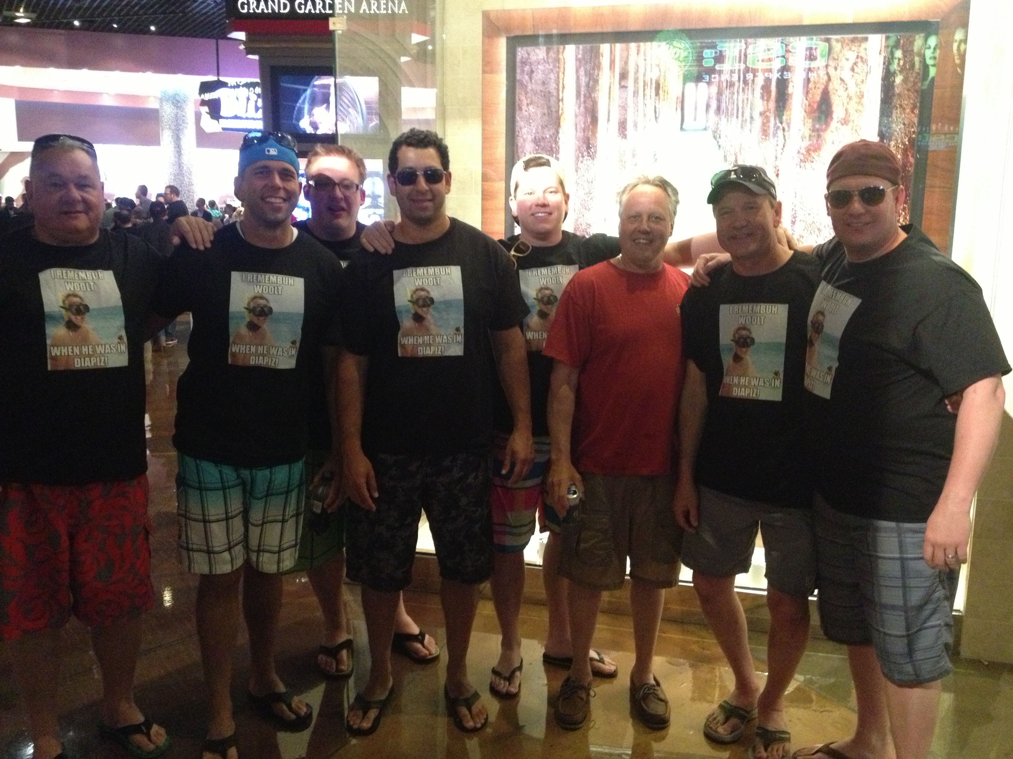 custom t-shirts for woolt bachelor party weekend in vegas - shirt