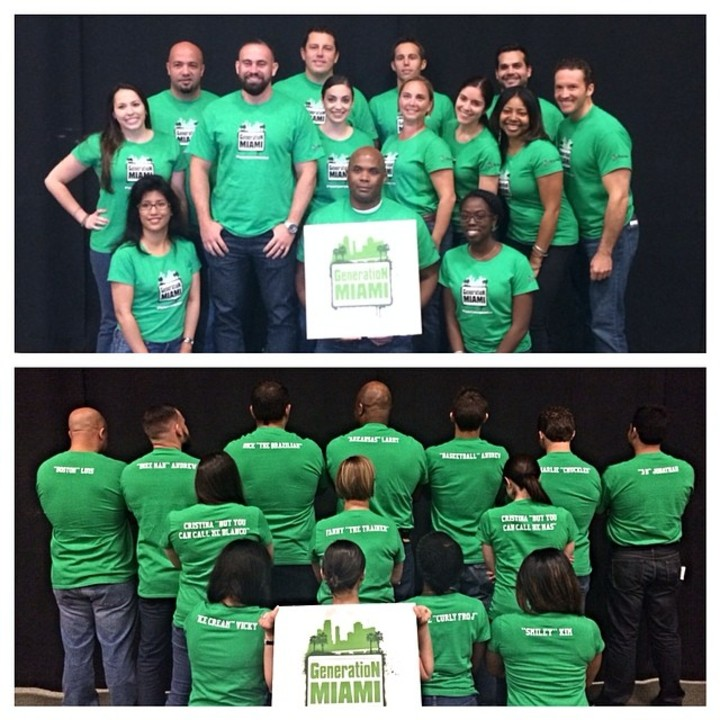 #Generation Miami #Team Awesome T-Shirt Photo