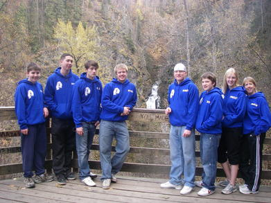 Nanook Swimmers At Thunderbird Falls T-Shirt Photo