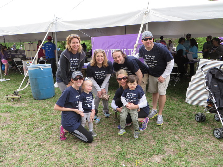 Team 33   March For Babies 2014 T-Shirt Photo