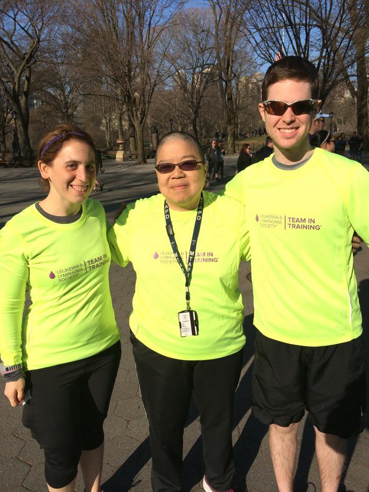 We Train To Beat Cancer T-Shirt Photo