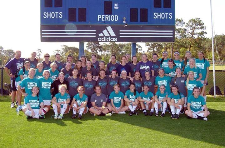 Uncw Women's Soccer Alumni 2014 T-Shirt Photo