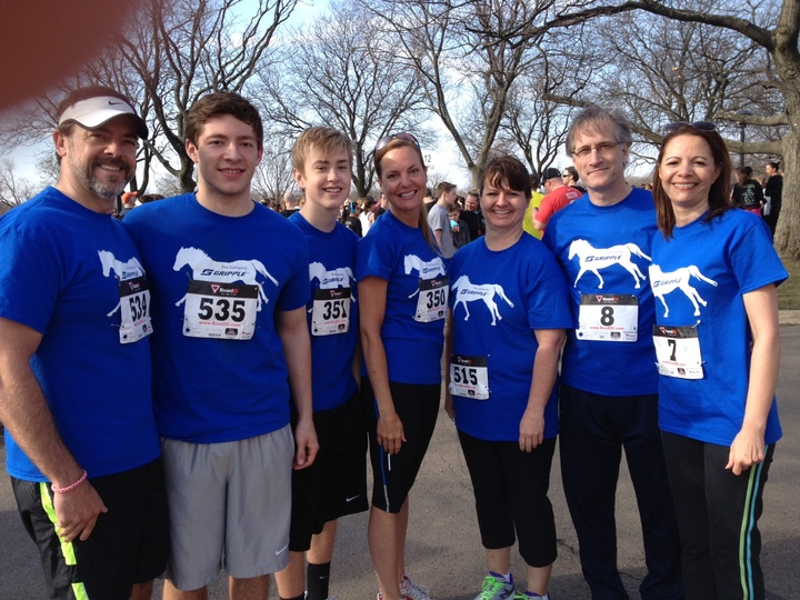 "Northern Illinois Food Bank ""Foodie 5 K"" Run T-Shirt Photo"