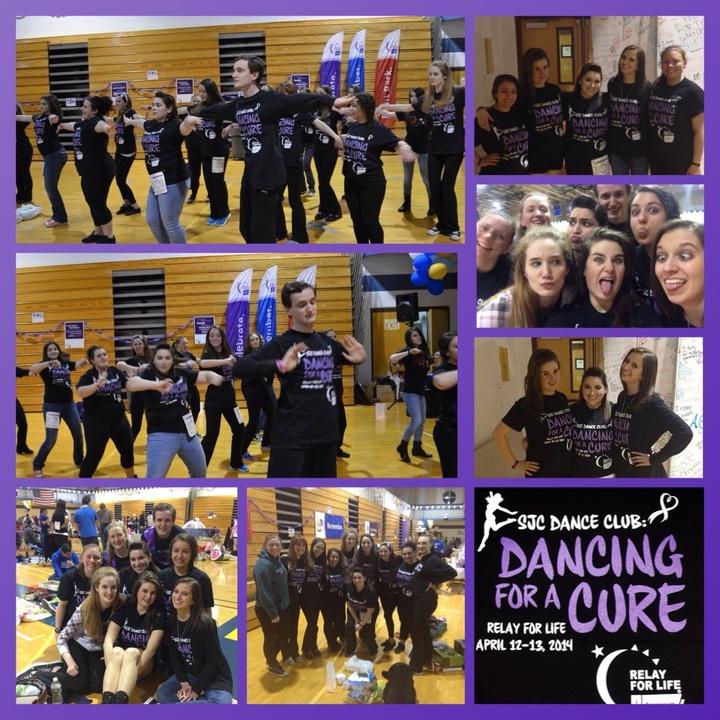 Sjc Dance Club Dancing For A Cure  T-Shirt Photo