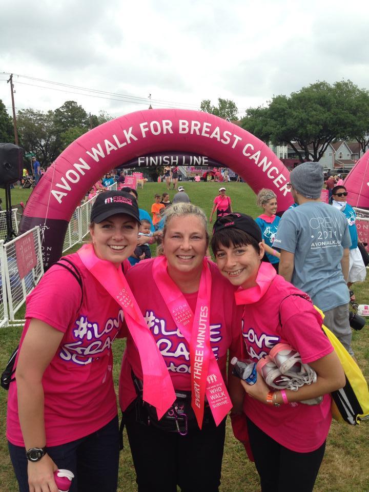 Team #Ilovegraceschool Conquers Breast Cancer!! T-Shirt Photo