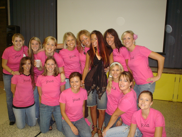 Jessica's Benefit T-Shirt Photo