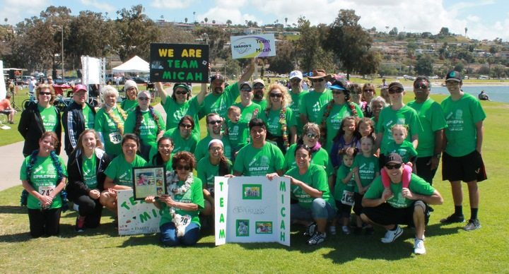 Team Micah  Walk For Epilepsy T-Shirt Photo