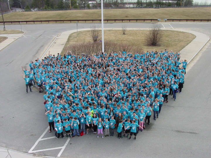 Overlook Middle School Kindness Counts Week 2014 T-Shirt Photo