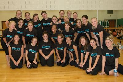 The Dance Company Of Virginia Tech T-Shirt Photo