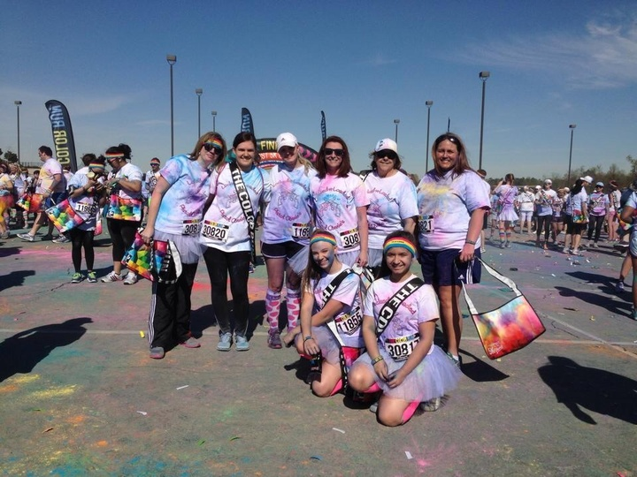 Fun At The Color Run! T-Shirt Photo
