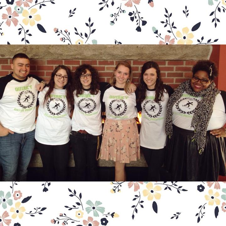 The Quirky College Crew  T-Shirt Photo