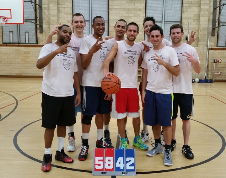 Harvard Law School Intramural Basketball T-Shirt Photo