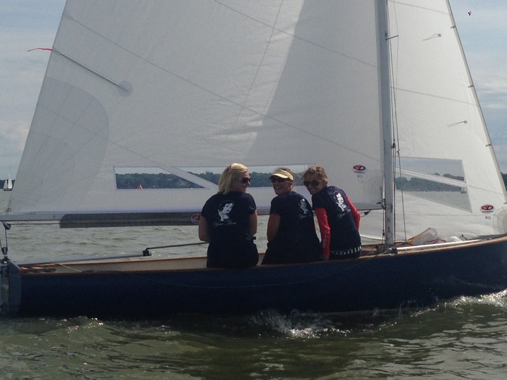 Your Mom Sailing Team T-Shirt Photo