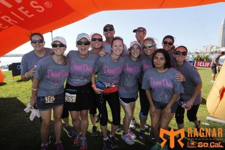 Desert Divas Take On Ragnar So Cal! T-Shirt Photo