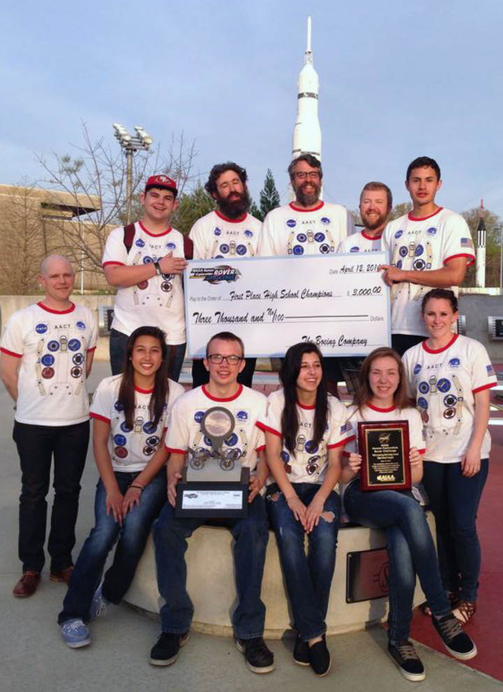 Aact Human Exploration Rover Team T-Shirt Photo