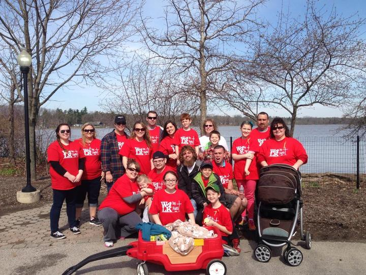 Our Team For The Ms Walk 2014 T-Shirt Photo