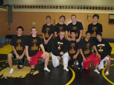 American School In Japan Wrestling Team T-Shirt Photo
