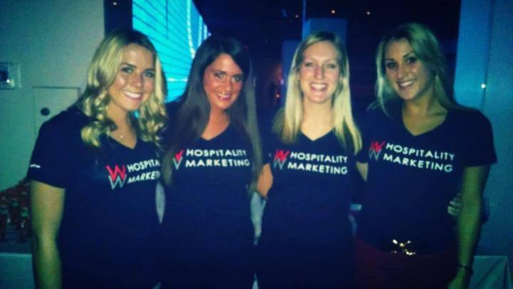 Representing Ww Hospitality Marketing! T-Shirt Photo