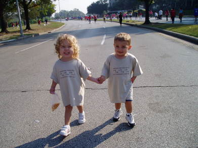 Hand In Hand For The Heart Walk T-Shirt Photo