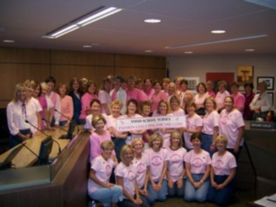 Passionately Pink For The Cure! Tm T-Shirt Photo