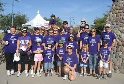 Team Twin Simpson At Walk Now For Autism '07 T-Shirt Photo