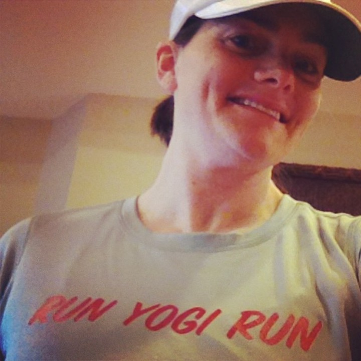 Run Yogi Run T-Shirt Photo