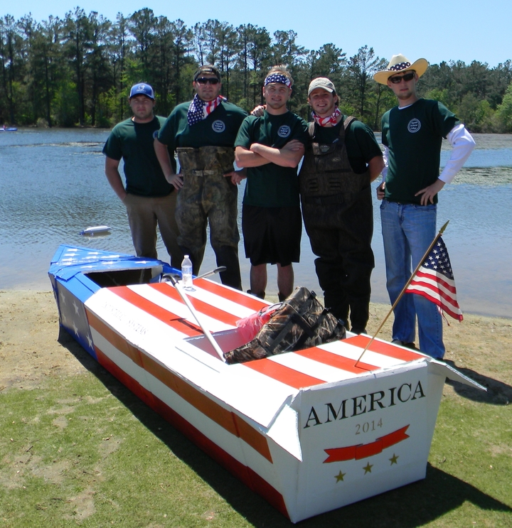 America Boat Crew T-Shirt Photo