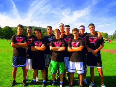 Victorious Secret Football Team T-Shirt Photo