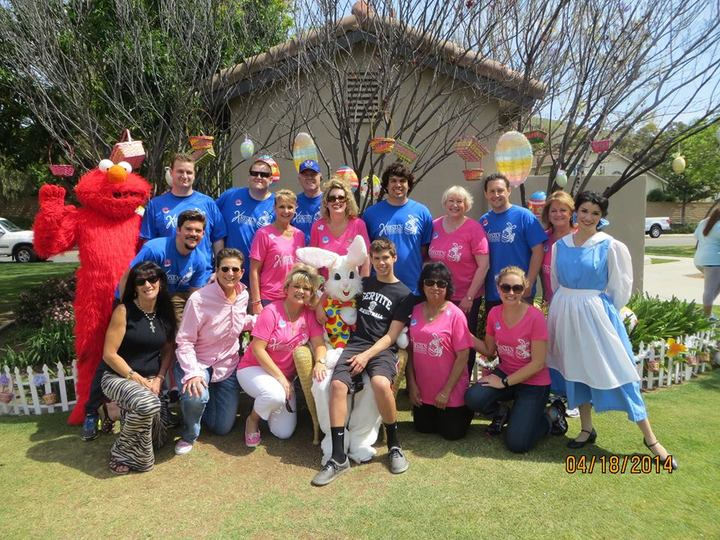 The Easter Bunny & His Crew Of Volunteers T-Shirt Photo