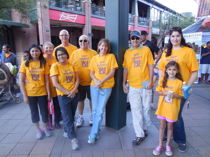 2014 National Kidney Foundation Of Arizona Walk T-Shirt Photo