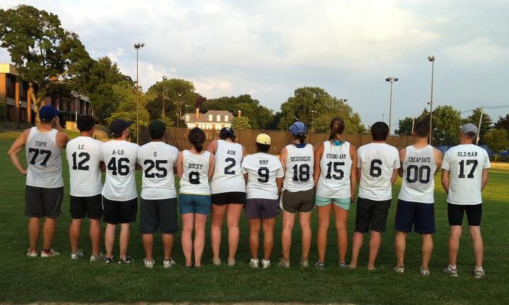Tufts University Biology Base Pairs T-Shirt Photo