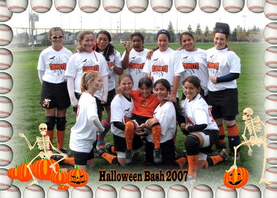 Capital City Comets Halloween Tournament T-Shirt Photo