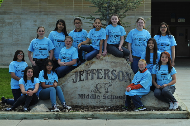Jefferson Yearbook Staff T-Shirt Photo