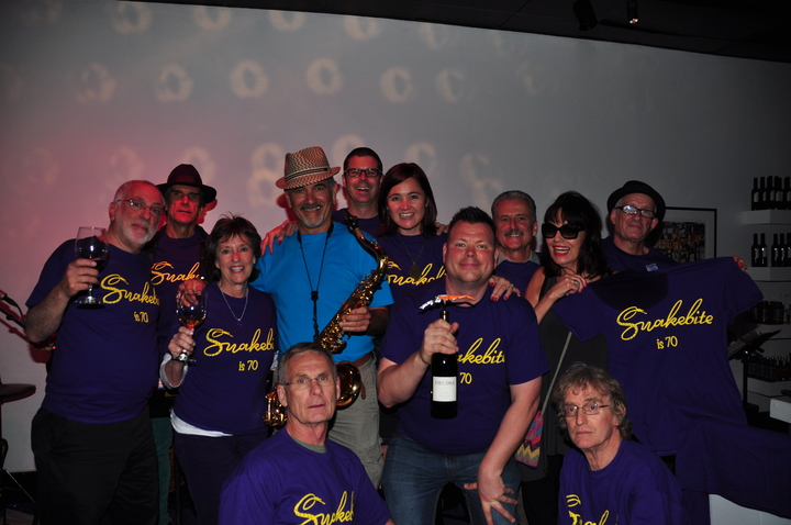 Snakebite Is 70 Surprise Party T-Shirt Photo
