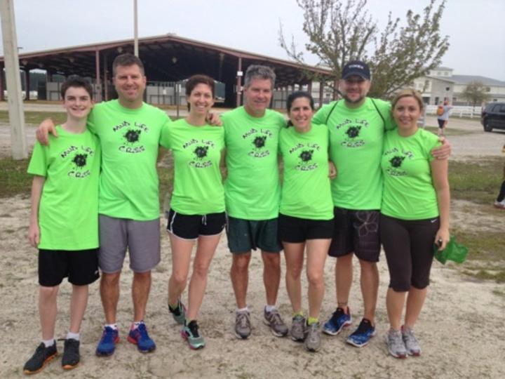 Jen's Mud Run 2014 T-Shirt Photo
