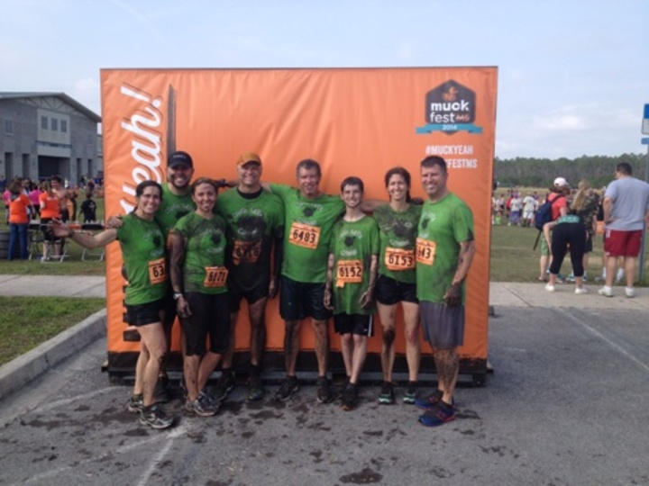 After The Mud Run T-Shirt Photo