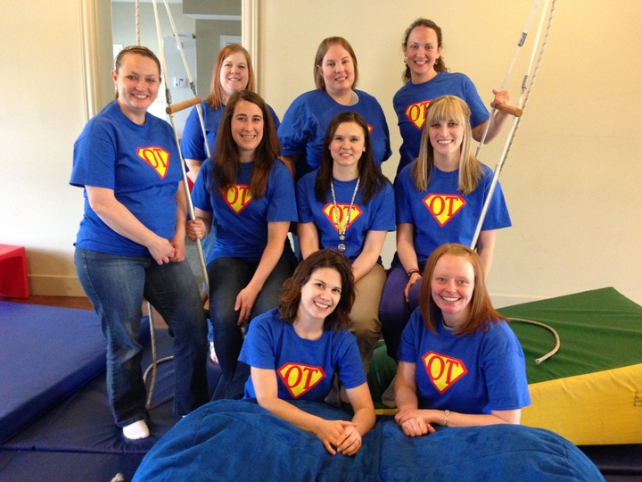 Occupational Super Therapists T-Shirt Photo