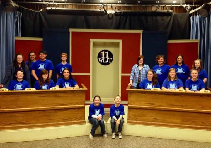 Teens At A Telethon T-Shirt Photo