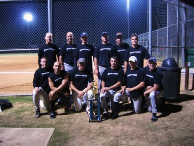 Apex Nc Fall Softball Champions T-Shirt Photo