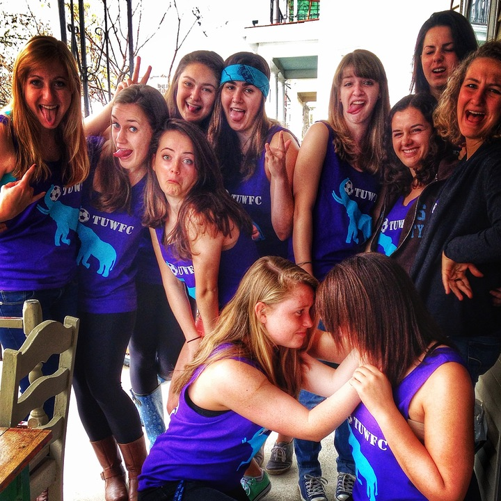Tuwfc Does Spring Fling T-Shirt Photo