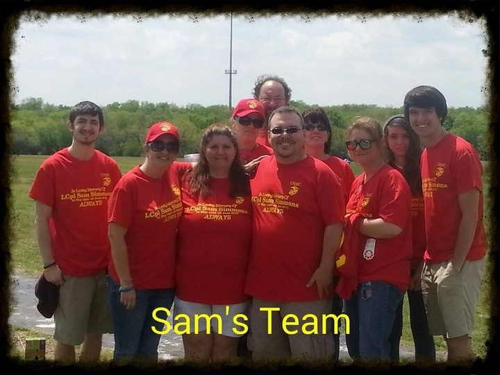 Sam's Team T-Shirt Photo