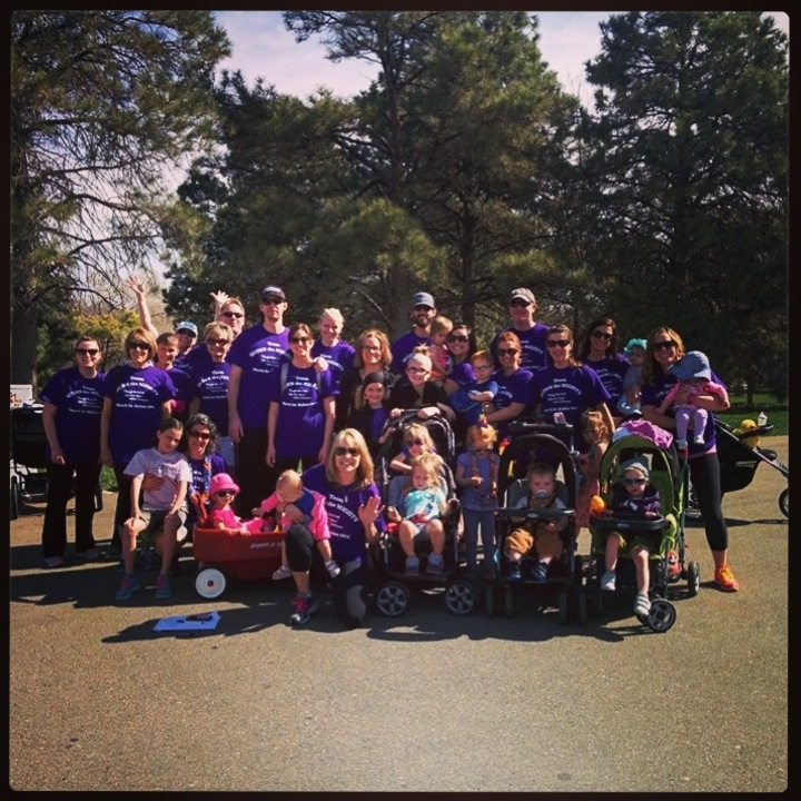 Team Quinn The Mighty Marches For Babies T-Shirt Photo