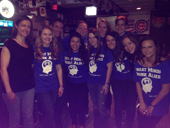 Psychology Bar Crawl T-Shirt Photo