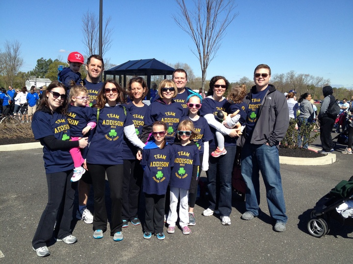March Of Dimes Walk Team Addison T-Shirt Photo