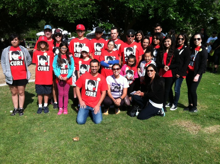 Walk For Sonia's Cure T-Shirt Photo