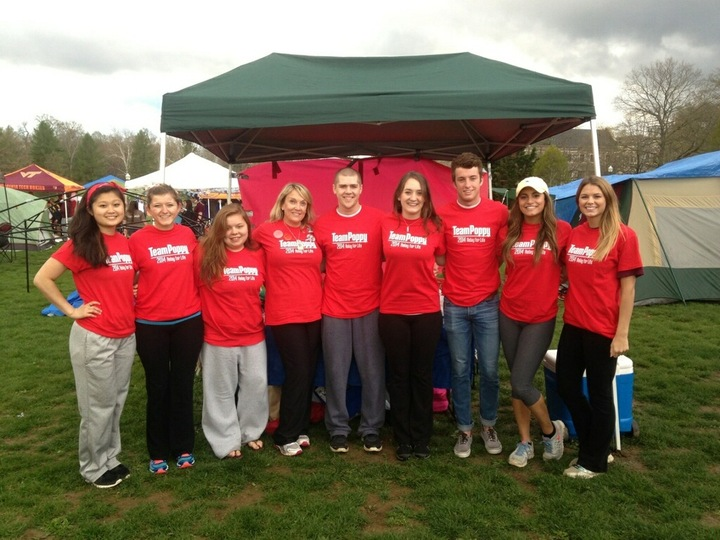 Team Poppy  2014 Relay For Life T-Shirt Photo