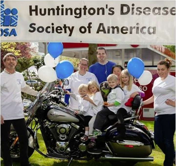 Ride For Huntington's Disease T-Shirt Photo